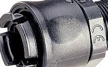 Legrand Raccordo LGP dritto diametro 17 mm nero M25 - Conf.10pz