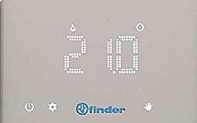 Finder Termostato ambiente Bliss