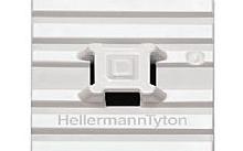 Hellermann Tyton BASETTA ADESIVA BIANCA FLESSIBILE 28X28 FASCETTA PER CAVI (Conf.10pz)