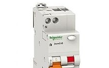 Schneider Electric Interruttore magnetotermico DOMC45 1P+N 25A 30MA 1M