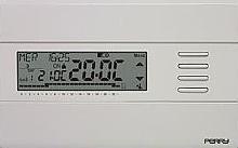 Perry Electric Cronotermostato parete settimanale digitale SLIM