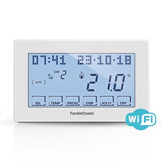 Controllo Temperatura Ambiente Fantini Cosmi CH180WIFI
