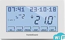 Fantini Cosmi Cronotermostato settimanale touch-screen programmabile solo via APP