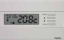 Perry Electric Termostato elettronico digitale da parete