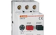 Lovato Interruttore salvamotore, potere di int. ICU A 400V= 100KA, 0,4…0,63A