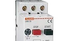 Lovato Interruttore salvamotore, potere di int. ICU A 400V= 6KA, 6,3…10A