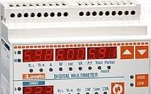 Lovato Misuratore modulare di potenza; LED; V AC: 30÷480V; I AC: 0,05÷6A