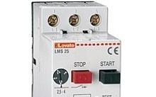 Lovato Interruttore salvamotore, potere di int. ICU A 400V= 6KA, 6,3…1A
