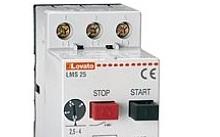 Lovato Interruttore salvamotore, potere di int. ICU A 400V= 4KA, 16…20A