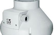 Vortice Aspiratore centrifugo assiale in resina autoestinguente CA 150 V0 D