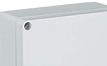 Schneider Electric Scatola industriale Tecnopilote PVC IP55 coperchio opaco 164x129x70