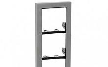 Comelit Telaio 4 moduli serie IKALL cornice silver