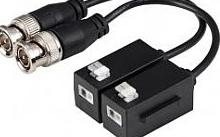 EmaCereda Coppia Balun passivi 4K per segnali HDCVI, TVI, AHD e CVBS