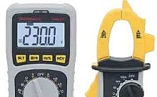 AMRA - Chauvin Arnoux Kit multimetro digitale + pinza amperometrica