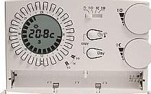Perry Electric Cronotermostato analogico digitale settimanale da parete