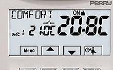 Perry Electric Termostato digitale da incasso 230V