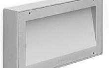 Lombardo Koi 220 9W 1300lm 3000°K colore grigio chiaro tech