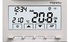 Perry Electric Cronotermostato Wi-Fi da incasso con alimentazione 230V