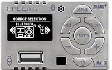 Vivaldi Dispositivo tecnologico audio all in one Vivaldi Giove Silver MK3