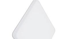 Arteleta Plafoniera quadrata led 12W 1250lm 3000-4000-5700°K
