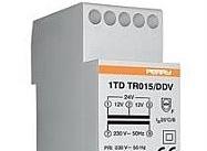 Perry Electric Trasformatore 15VA per servizio continuo uscite 12-12-24V 2 DIN