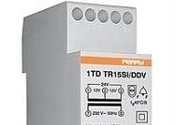 Perry Electric Trasformatore 15VA per servizio intermittente uscite 4-8-12V 2 DIN