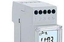 Perry Electric Interruttore orario settimanale digitale 1 canale  2 DIN