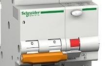Schneider Electric Interruttore magnetotermico differenziale 1P+N C 6A 30mA Tipo AC