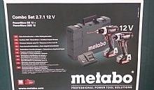 Metabo Trapano avvitatore BS 12 BL + avvitatore a massa battente SSD 12 BL
