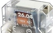 Finder Relè ad impulsi pannello 2NO 10A 4 sequenze