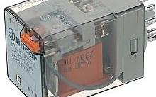 Finder Rele' Octal 10A -250V bobina 12VAC 2 contatti