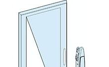Schneider Electric Porta Trasparente Prisma G con manopola e serratura a chiave