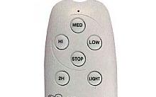 CFG Telecomando di ricambio per ventilatore EV023