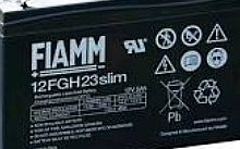 FIAMM Batteria ermetica al piombo High rate discarge 12V 5,0Ah Fasto 4,8mm.