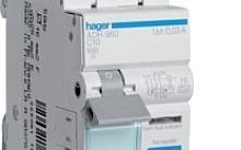 Hager Magnetotermico differenziale acc. 1 Polo+N 30Ma A-Hi 10A 6Ka Curva C2M